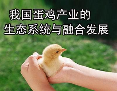 我国蛋鸡产业的生态系统与融合发展