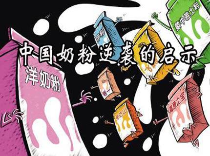 中国奶粉逆袭的启示