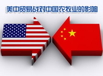 王中:重庆时时彩倍投方案,美中贸易战对中国农牧业的影响